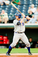 Stephen Vogt #30 of the Durham Bulls at bat against the Charlotte Knights at Knights Stadium on September 1, 2011 in Fort Mill, South Carolina.  (Brian Westerholt / Four Seam Images)