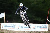 29th August 2021; Commezzadura, Trentino, Italy; 2021 Mountain Bike Cycling World Championships, Val di Sole; Downhill; Downhill final men, Brook Macdonald (NZL)
