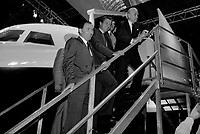 Le 10 Octobre 1987. Vue de Dominique Baudis, Jacques Blanc et Jacques Chaban-Delmas lors d'une visite.<br /> <br /> Jacques Chaban-Delmas, souvent surnommé « Chaban », né Jacques Delmasa le 7 mars 1915 à Paris 13e et mort le 10 novembre 2000 à Paris 7e, est un résistant, général de brigade et homme d'État français.<br /> <br /> Considéré comme l'un des « barons du gaullisme », il est notamment maire de Bordeaux de 1947 à 1995, ministre sous la IVe République et président de l'Assemblée nationale à trois reprises entre 1958 et 1988.<br /> <br /> Premier ministre de 1969 à 1972, sous la présidence de Georges Pompidou,