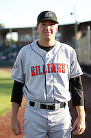 August 11, 2009: Adian Kummett of the Billings Mustangs.The Mustangs are the Pioneer League affiliate for the Cincinnati Reds. Photo by: Chris Proctor/Four Seam Images