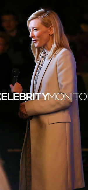 SANTA BARBARA, CA - FEBRUARY 01: Actress Cate Blanchett arrives at the 29th Santa Barbara International Film Festival - Outstanding Performer of the Year Award Honoring Cate Blanchett held at Arlington Theatre on February 1, 2014 in Santa Barbara, California. (Photo by Xavier Collin/Celebrity Monitor)