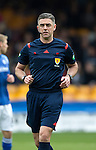 Motherwell v St Johnstone….07.05.16  Fir Park, Motherwell<br />Referee Greg Aitken<br />Picture by Graeme Hart.<br />Copyright Perthshire Picture Agency<br />Tel: 01738 623350  Mobile: 07990 594431