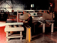 1998 File Photo -   Steel sheets factory (model and property released for editorial uses only)