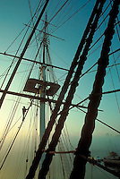 USS Constitution rigging, Charlestown, MA