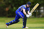 NELSON, NEW ZEALAND - DECEMBER 14: Premiership Cricket - Wanderers CC v ACOB.  Saturday 14 December 2019, Brightwater, New Zealand. (Photo by Chris Symes/Shuttersport Limited)