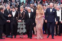 Jesse Eisenberg, Kristen Stewart, Woody Allen, Blake Lively, Corey Stoll - 69EME FESTIVAL DE CANNES 2016 - OUVERTURE DU FESTIVAL AVEC 'CAFE SOCIETY'