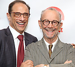 Hal Luftig and Joel Grey attends the 2019 Off Broadway Alliance Awards Reception at Sardi's on June 18, 2019 in New York City.