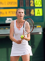 24-6-08, England, Wimbledon, Tennis, Govortsova
