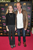 """Iain Glen and his daughter at the """"Tina: The Tina Turner Musical"""" Refuge gala performance, Aldwych Theatre, Aldwych, on Sunday 10th October 2021, in London, England, UK. <br /> CAP/CAN<br /> ©CAN/Capital Pictures"""