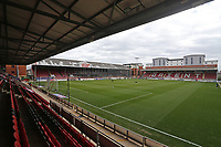 General view of the ground ahead of Leyton Orient vs Oldham Athletic, Sky Bet EFL League 2 Football at The Breyer Group Stadium on 27th March 2021