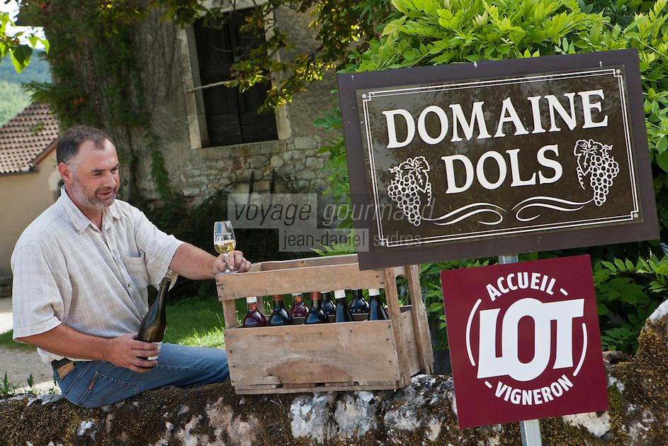 Europe/Europe/France/Midi-Pyrénées/46/Lot/Saint-Géry:  Vincent Dols, vigneron Domaine Dols -  Vin de Pays du Lot