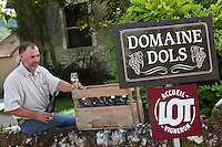 Europe/Europe/France/Midi-Pyrénées/46/Lot/Saint-Géry:  Vincent Dols, vigneron Domaine Dols -  Vin de Pays du Lot