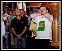 10/06/2006        Copyright Pic: James Stewart.File Name : sct_jspa03_world_cup_stirling.SPORTSTER BAR, STIRLING : SCOTTISH FANS REACT TO A MISSED PARAGUAY CHANCE...Payments to :.James Stewart Photo Agency 19 Carronlea Drive, Falkirk. FK2 8DN      Vat Reg No. 607 6932 25.Office     : +44 (0)1324 570906     .Mobile   : +44 (0)7721 416997.Fax         : +44 (0)1324 570906.E-mail  :  jim@jspa.co.uk.If you require further information then contact Jim Stewart on any of the numbers above.........