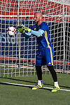 Spanish Pepe Reina during the first training of the concentration of Spanish football team at Ciudad del Futbol de Las Rozas before the qualifying for the Russia world cup in 2017 August 29, 2016. (ALTERPHOTOS/Rodrigo Jimenez)