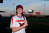 Michael Walsh during the Under Armour All-America Tournament powered by Baseball Factory on January 17, 2020 at Sloan Park in Mesa, Arizona.  (Zachary Lucy/Four Seam Images)