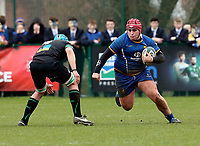 Wednesday 20th March 2019 | 2019 Schools Shield Final<br /> <br /> Ben McCrossan during the 2019 Ulster Schools Cup Final between Sullivan and Bangor Grammar at The Dub Arena, Queens University, Belfast, Northern Ireland. Photo by John Dickson / DICKSONDIGITAL