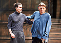 Hamlet by William Shakespeare, directed by Sean Mathias. Set designed by Lee Newby, Costume Designed by Loren Elstein, Lighting designed by Zoe Spurr.  With Ben Allen as Horatio, Ian McKellen as Hamlet. Opens at The Theatre Royal Windsor on 21/7/21 pic Geraint Lewis