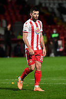 Danny Newton of Stevenage FC during Stevenage vs Bolton Wanderers, Sky Bet EFL League 2 Football at the Lamex Stadium on 21st November 2020