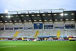28.09.2020, Benteler-Arena, Paderborn, GER, 2. FBL SC Paderborn 07 vs. Hamburger SV<br />   <br /> im Bild<br /> Leere Tribüne. Feature, Symbol, Symbolfoto, charakteristisch, Detail,<br /> <br /> DFL regulations prohibit any use of photographs as image sequences and/or quasi-video. <br /> <br /> Foto © nordphoto / Paetzel