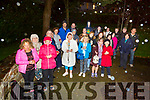 The Annual candlelight vigil for the Worldwide Suicide Prevention Day in Pearse Park on Tuesday night, to remember those lost to suicide.