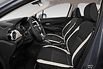Front seat view of a 2020 Nissan Versa SV 4 Door Sedan front seat car photos