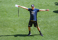 Operations manager Johnny Schmitt. Hurricanes captain's run at Sky Stadium in Wellington, New Zealand on Friday, 14 February 2020. Photo: Dave Lintott / lintottphoto.co.nz