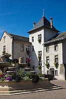 Europe/France/Rhône-Alpes/73/Savoie/Aix-les-Bains: Hôtel de ville d'Aix-les-Bains. À l'origine ce fut l'ancien château des marquis d'Aix