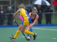 Action from the 2020 Lower North Island Girls Hockey Premiership match between Wanganui Collegiate School and Taradale High School at Fitzherbert Park Twin Turfs in Palmerston North, New Zealand on Tuesday, 1 September 2020. Photo: Dave Lintott / lintottphoto.co.nz