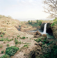 View of the Tissisat Falls, Blue Nile, Lake Tana, North West Ethiopia