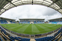 A general view of the stadium before Colchester United vs Oldham Athletic, Sky Bet EFL League 2 Football at the JobServe Community Stadium on 3rd October 2020