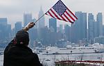 USNS Comfort Ship arrives to New York