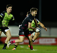 20th December 2020; The Sportsground, Galway, Connacht, Ireland; European Champions Cup Rugby, Connacht versus Bristol Bears; Harry Randall plays the ball away for Bristol Bears