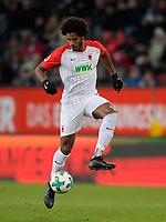 25.11.2017,  Football 1.Liga 2017/2018, 13.Match Day, FC Augsburg - VfL Wolfsburg, in der WWK-Arena Augsburg, Caiuby (FC Augsburg) *** Local Caption *** © pixathlon +++ tel. +49 - (040) - 22 63 02 60 - mail: info@pixathlon.de<br /> <br /> +++ NED + SUI out !!! +++