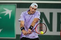 4th July 2021; Roland Garros, Paris France; French Open tennis championships day 6;  John Isner (USA )