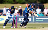 George Munsey bats for Kent during Kent Spitfires vs Durham, Royal London One-Day Cup Cricket at The Spitfire Ground on 22nd July 2021