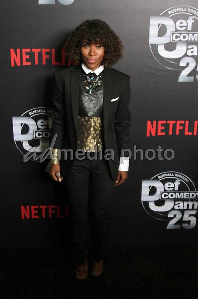 "10 September 2017 - Beverly Hills, California - Dewanda Wise. Netflix ""Def Comedy Jam 25"" held at The Beverly Hilton. Photo Credit: Theresa Bouche/AdMedia"