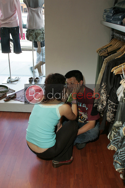 Bai Jie and Yu Cho<br />at TAG RAG Boutique, Beverly Hills, CA. 08-30-06<br />Dave Edwards/DailyCeleb.com 818-249-4998<br />Exclusive