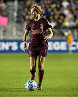 Number one seeds Virginia Tech and Florida State play in the the NCAA Division I Soccer Tournament semifinals at Wakemed Soccer Park in Cary, NC on December 6, 2013.