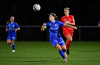 Sien Vandersanden of Racing Genk pictured during a female soccer game between  Racing Genk Ladies and White Star Woluwe on the seventh matchday of the 2020 - 2021 season of Belgian Scooore Womens Super League , friday 13 th of November 2020  in Genk , Belgium . PHOTO SPORTPIX.BE | SPP | DAVID CATRY
