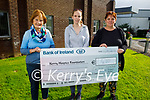 Brenda and Nicole O'Connor from Ardfert presenting a cheque for €1,410 to the Kerry Hospice on Friday from their recent fundraising Coffee Evening . L to r: Mary Shanahan (Kerry Hospice), Nicole and Brenda O'Connor.