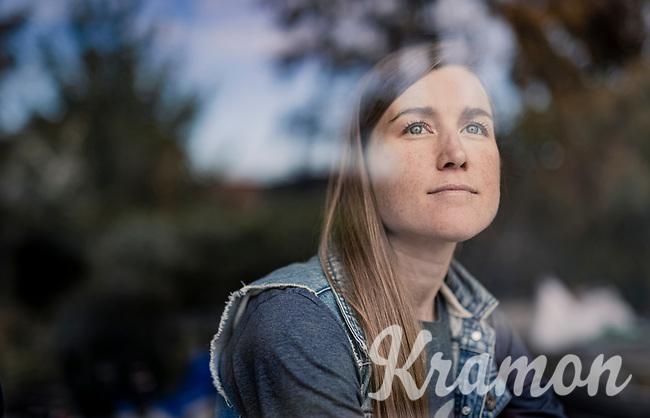editorial portrait of Lauren Stephens (USA/TIBCO - SVB) ahead of the 2020 Ronde van Vlaanderen<br /> <br /> ©kramon