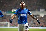 27.02.2019: Rangers v Dundee: Alfredo Morelos celebrates scoring