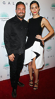 WEST HOLLYWOOD, CA, USA - OCTOBER 23: Brian Bowen Smith, Emmy Rossum arrive at Brian Bowen Smith's First Solo Show 'Wildlife' held at the De Re Gallery on October 23, 2014 in West Hollywood, California, United States. (Photo by Celebrity Monitor)