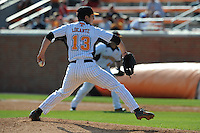 Will Locante #13 of the Tennessee Volunteers at Lindsey Nelson Stadium in game against LSU Tigers in Knoxville, TN March 27, 2010 (Photo by Tony Farlow/Four Seam Images)