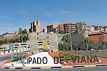Viana.Navarra.Espana.Viana.Navarra.Spain.Vista general desde la entrada de la villa..General view from the entrance to the villa..(ALTERPHOTOS/Alfaqui/Acero)