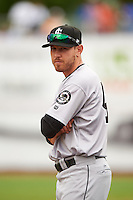 Jackson Generals pitcher Matt Anderson (40) in the bullpen during a game against the Montgomery Biscuits on April 29, 2015 at Riverwalk Stadium in Montgomery, Alabama.  Jackson defeated Montgomery 4-3.  (Mike Janes/Four Seam Images)