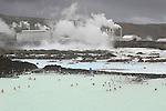 Blue Lagoon Thermal pools, South of Reykjavik, Iceland