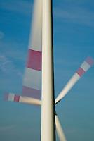 GERMANY Marne, Repower wind turbine / DEUTSCHLAND, Windkraftanlage Repower