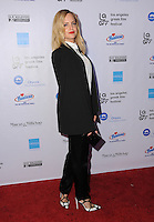 "05 June 2016 - Hollywood, California - Mena Suvari. Arrivals for the 2016 LA Greek Film Festival Premiere Of ""Worlds Apart"" held at The Egyptian Theater. Photo Credit: Birdie Thompson/AdMedia"