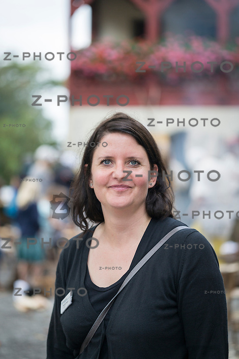 20.9.2014 LENZBURG / AG; MITTELALTERMARKT AM 20. SEPTEMBER 2014 AUF SCHLOSS LENZBURG.<br /> KURATORIN, MARTINA HUGGEL<br /> <br /> COPYRIGHT © ZVONIMIR PISONIC
